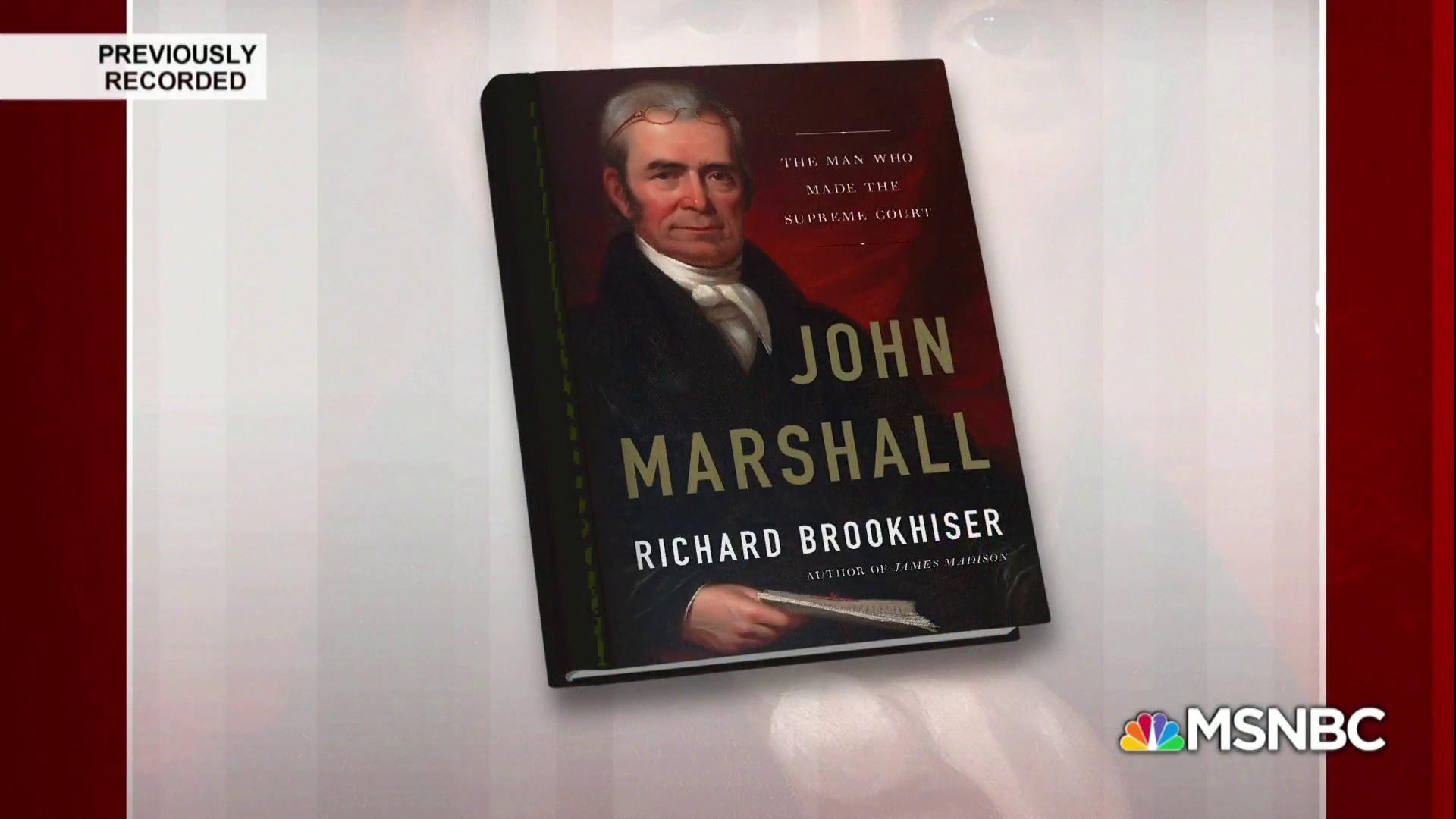 John Marshall's road to the Supreme Court