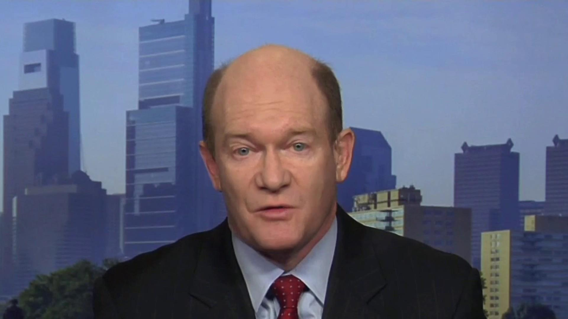 Sen. Coons: Indictment suggests campaign, Russia connection