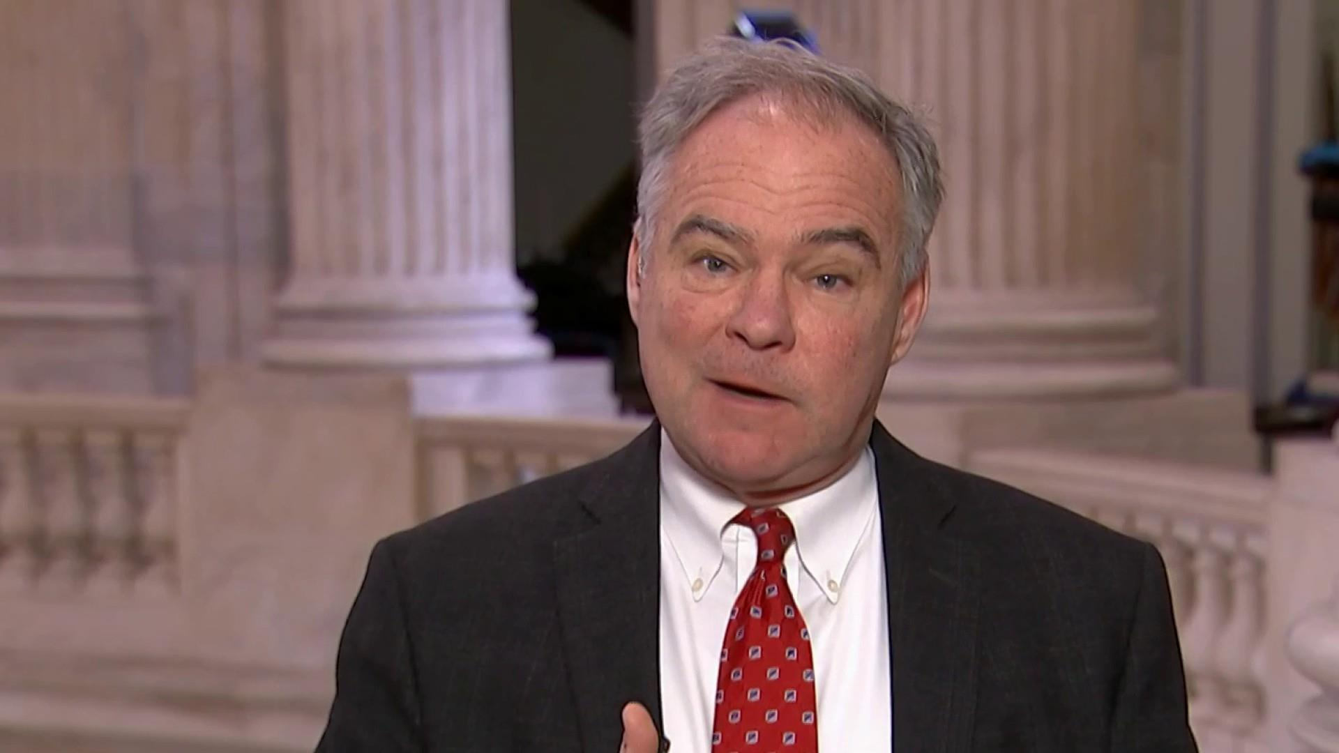 Kaine: If put to vote, GOP would vote to re-open
