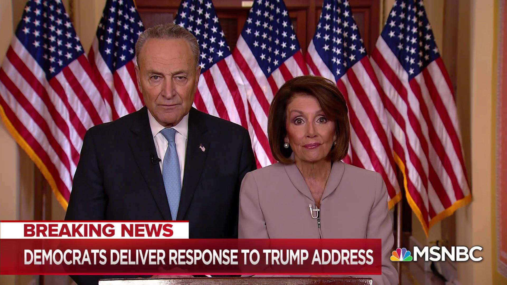 Democratic response: Trump throughout shutdown has misinformed