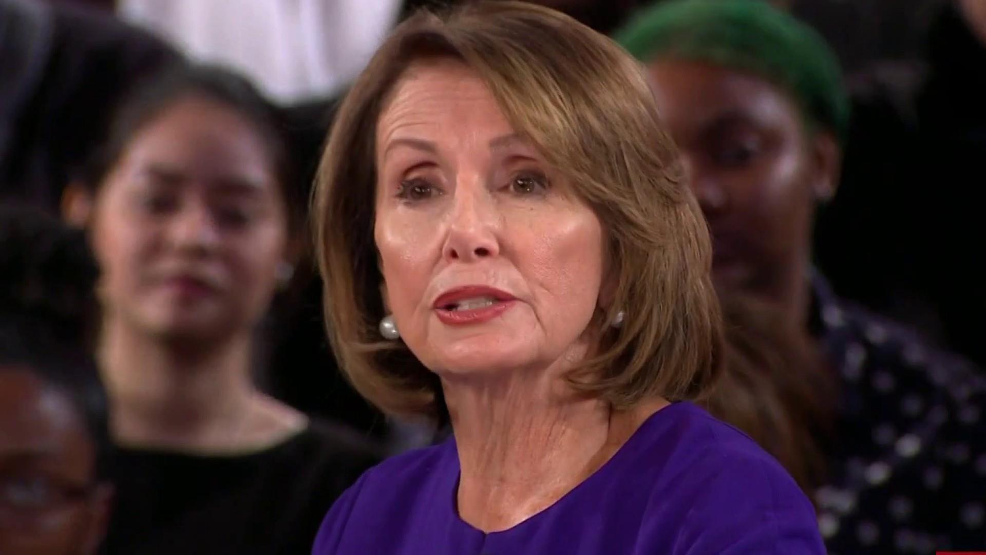 Speaker Pelosi on Black Lives Matter, redressing past grievances
