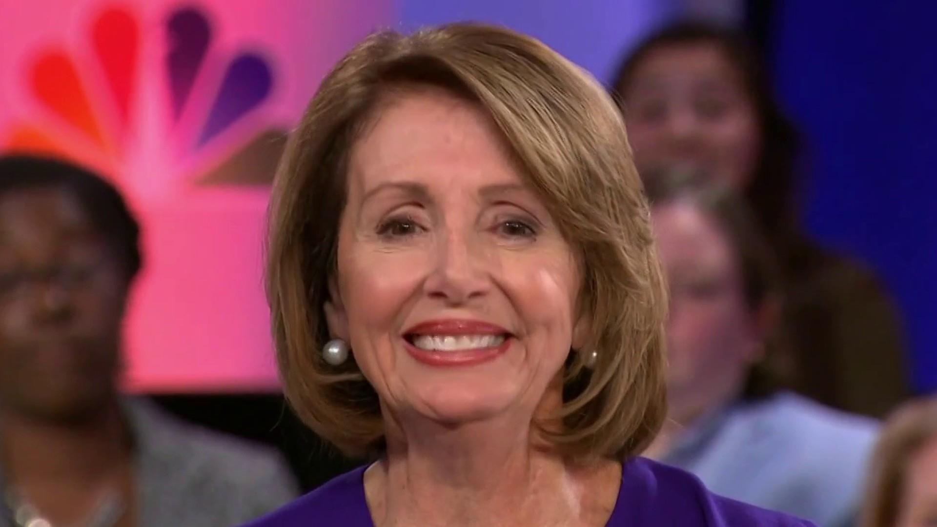 Speaker Pelosi on investigations and talk of impeachment