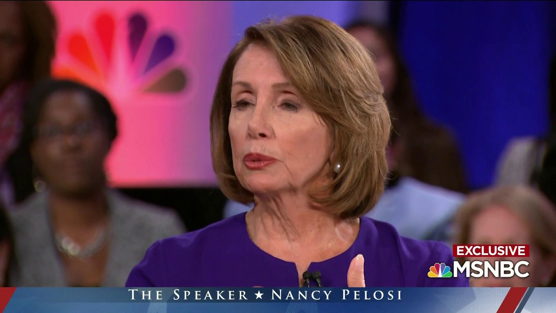 Speaker Pelosi on sexism: 'Know your power'