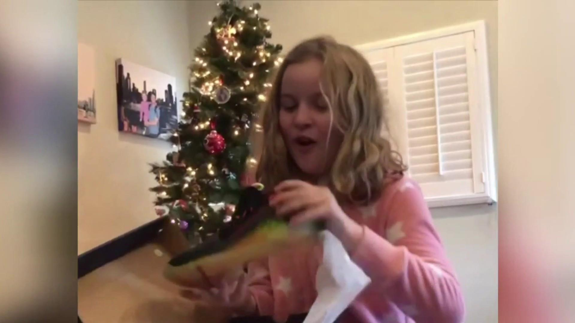 #GoodNewsRUHLES: Steph Curry keeps promise, gifts shoes to young fan