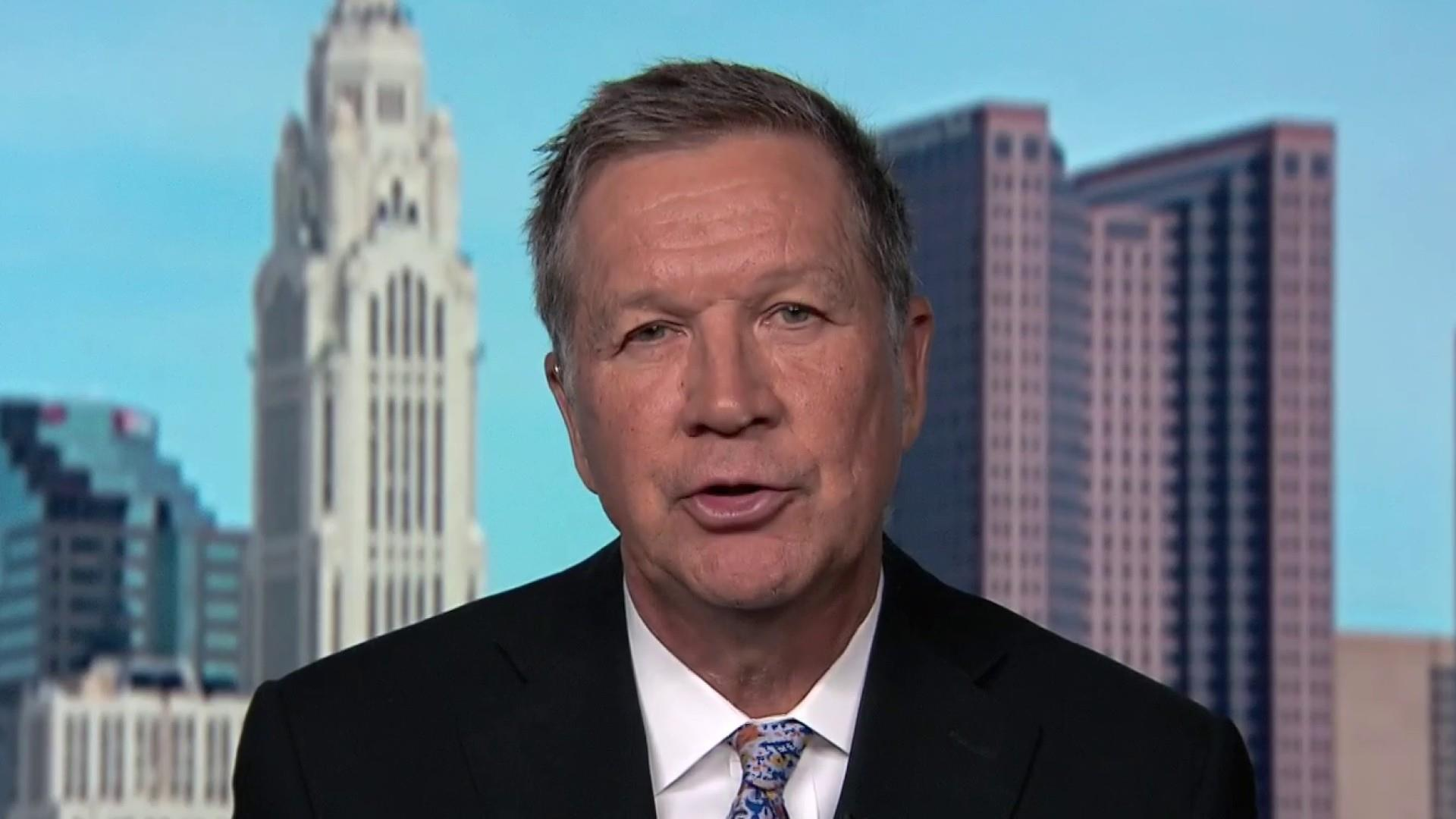 Gov. Kasich: Put the people first and 'do a little painful giving'
