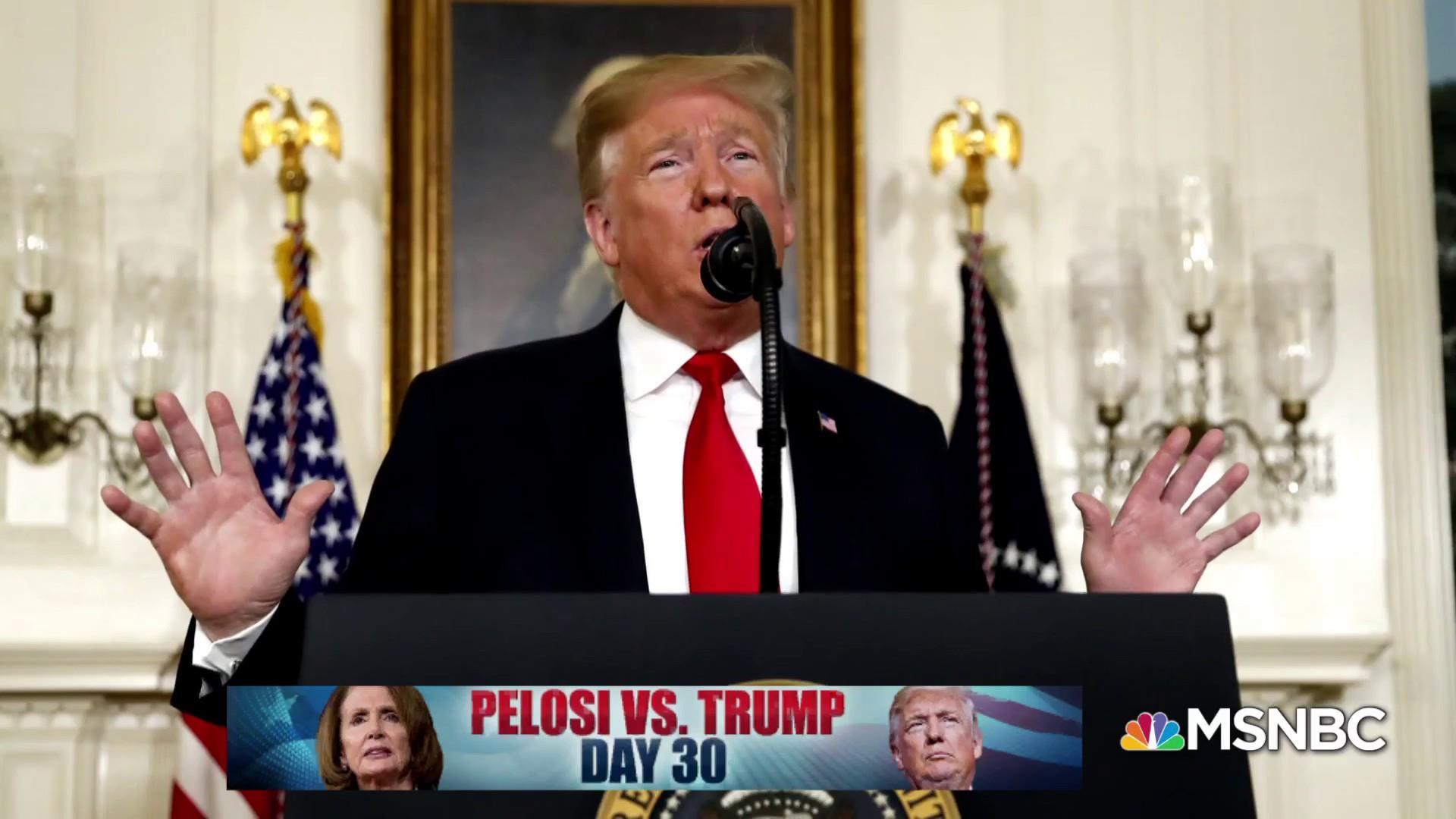 Trump vs. Pelosi, Day 30