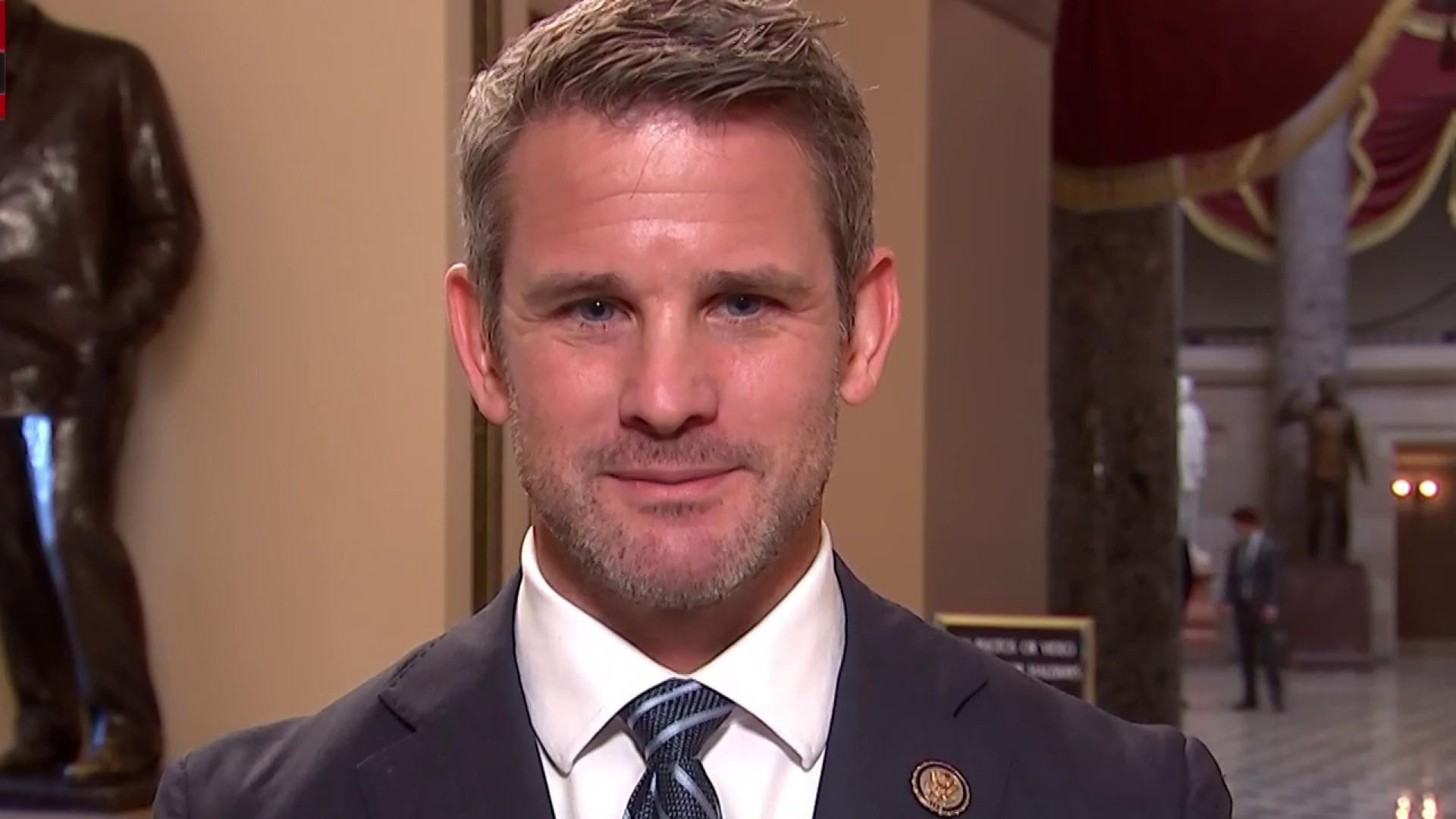 Rep. Adam Kinzinger: 'It's fine' if people don't want a wall from ...