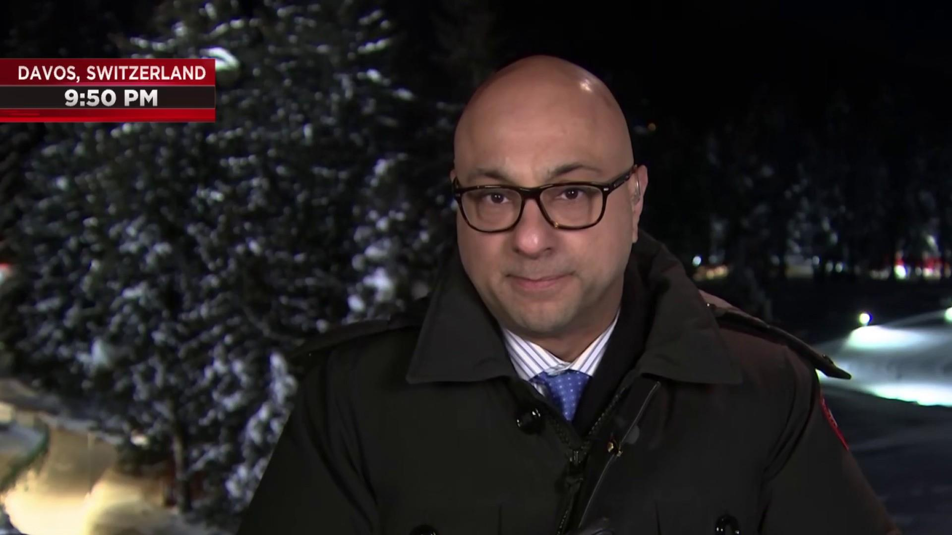 Ali Velshi in Davos: Global elite focus on economic concerns