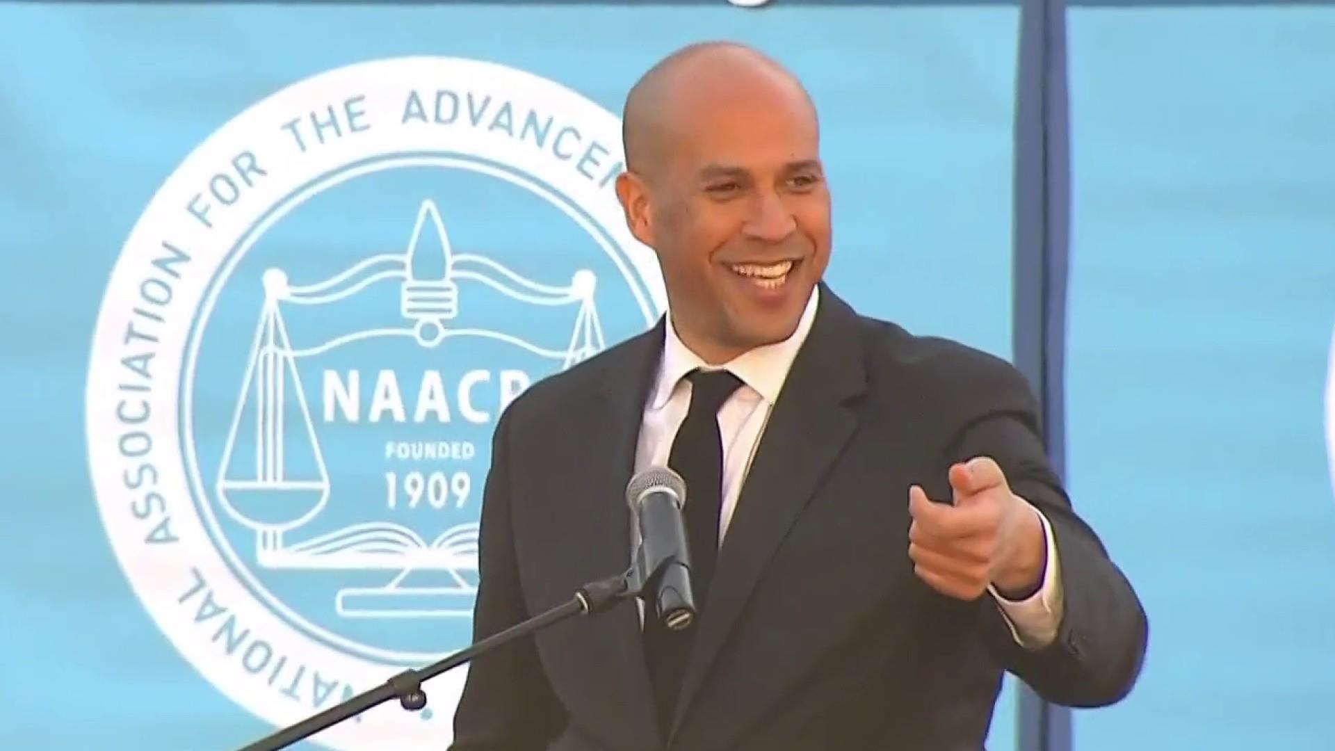 Senator Cory Booker speaks out on MLK Day about democracy