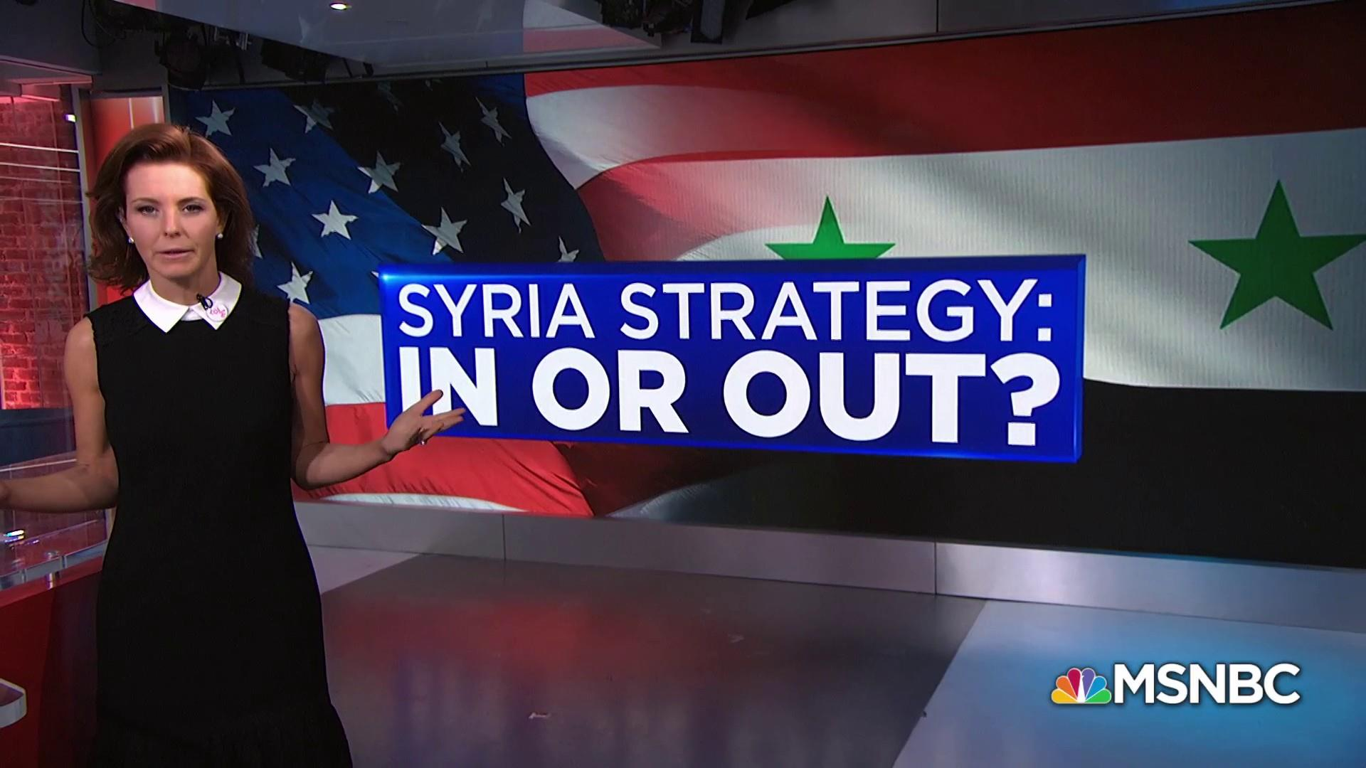 How President Trump has contradicted himself on Syria