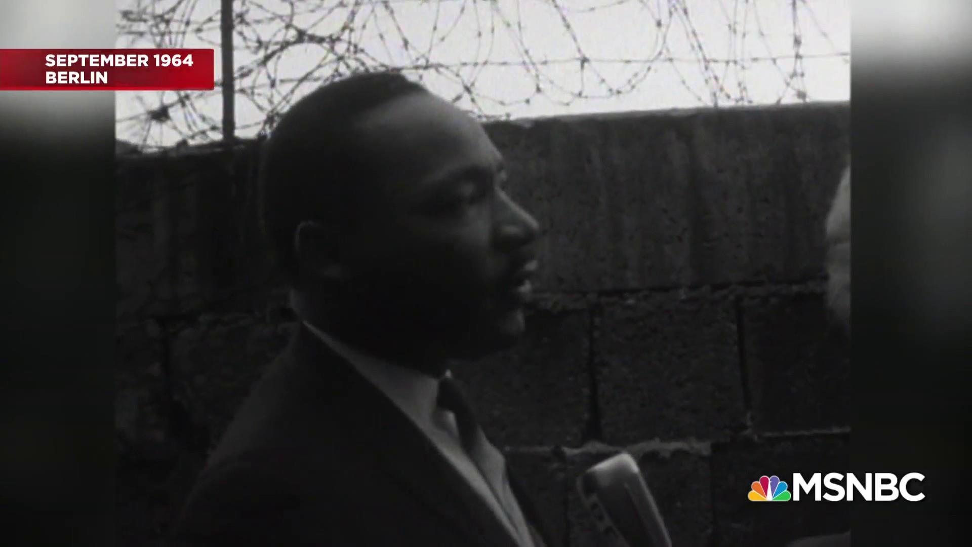 What Martin Luther King, Jr. had to say about walls