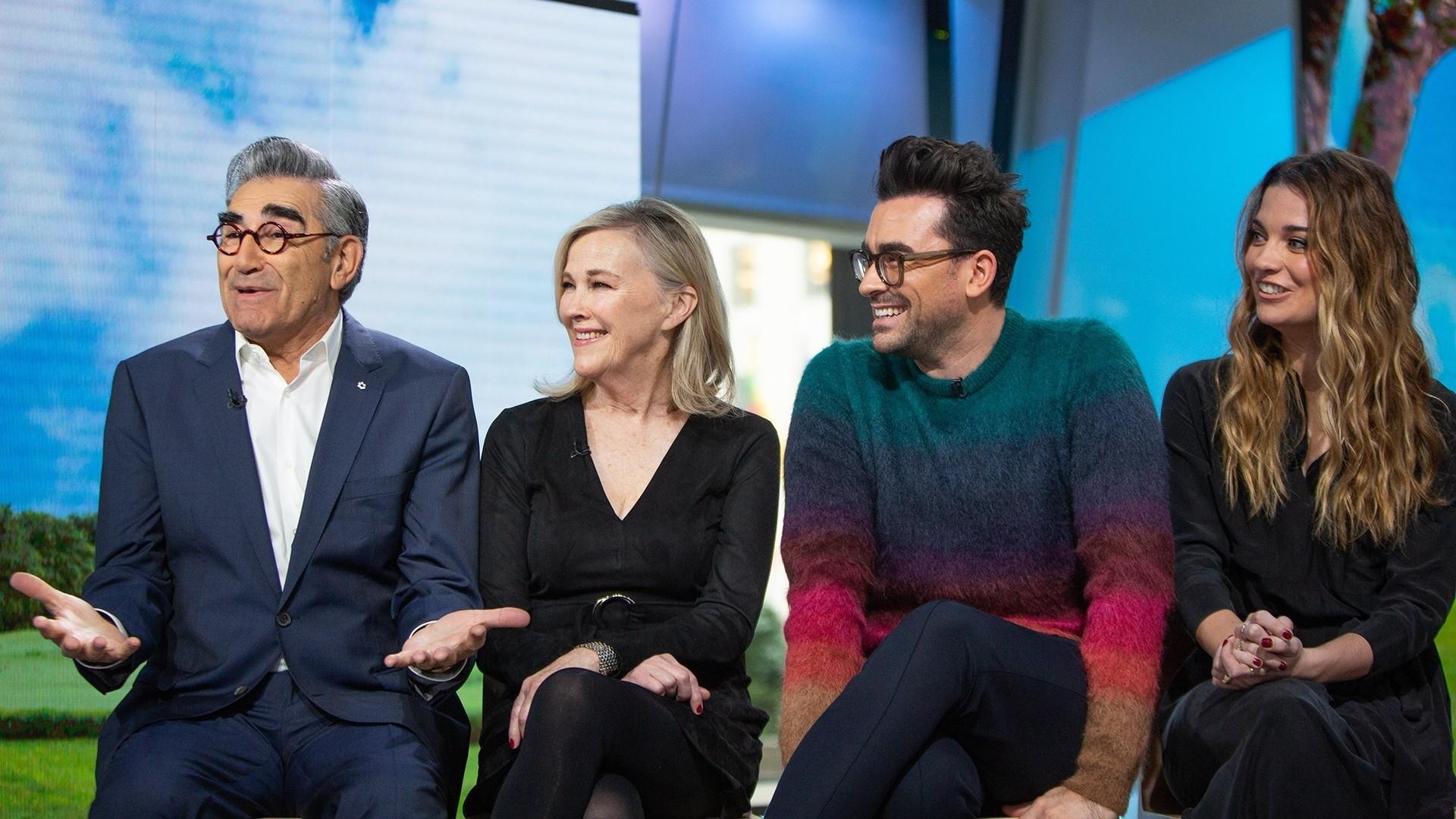 'Schitt's Creek' stars dish on the hit comedy's 5th season