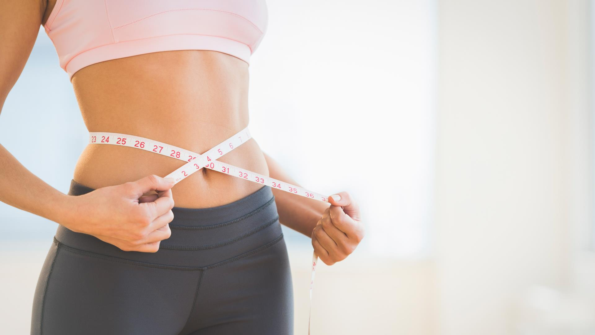 How to get a smaller waist with this one, easy workout