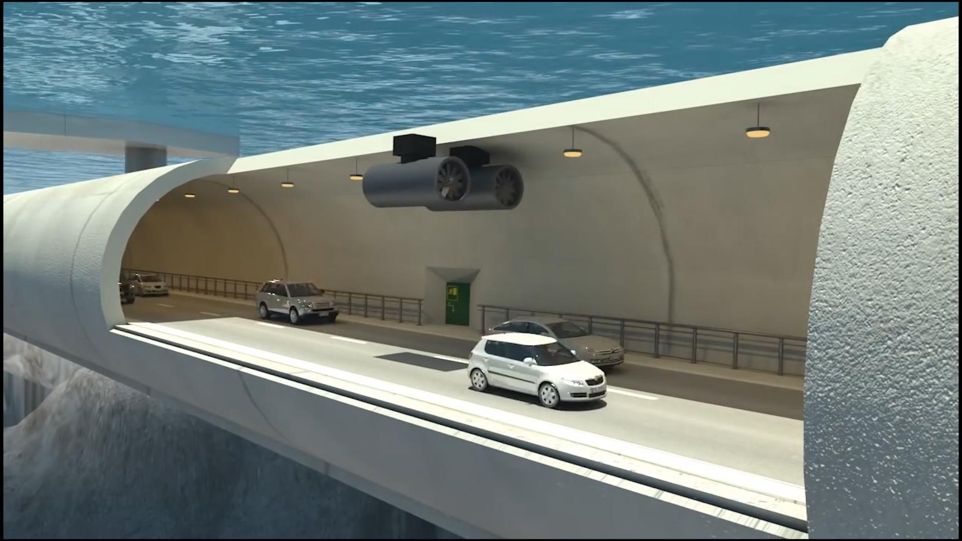 World's first 'floating tunnel' could be built in Norway