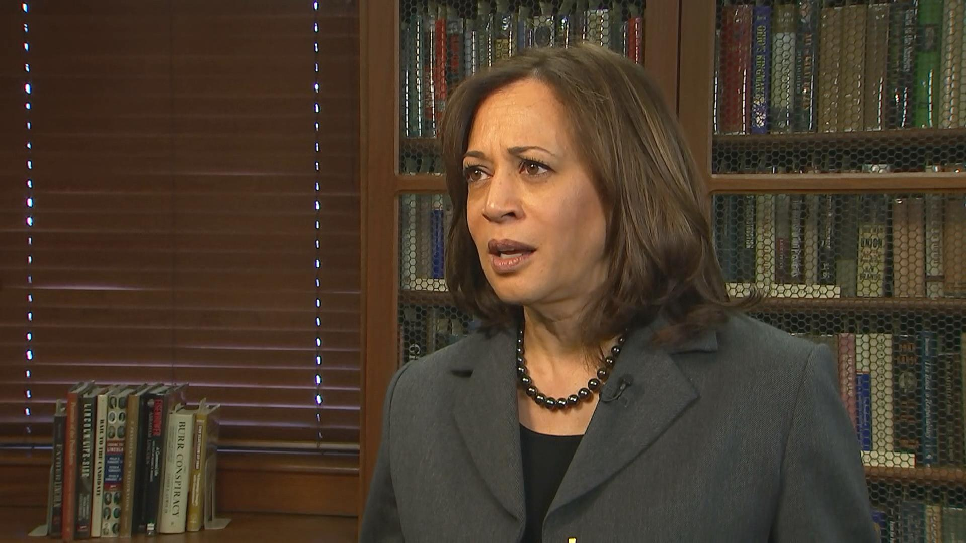 2020 presidential candidate Kamala Harris explains health care stance