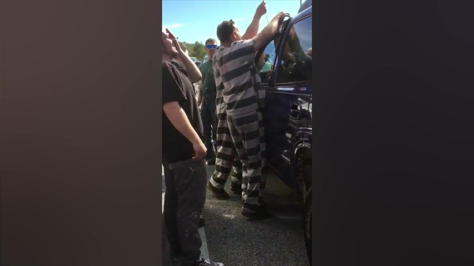 Inmates help deputies in Florida rescue infant accidentally locked in car