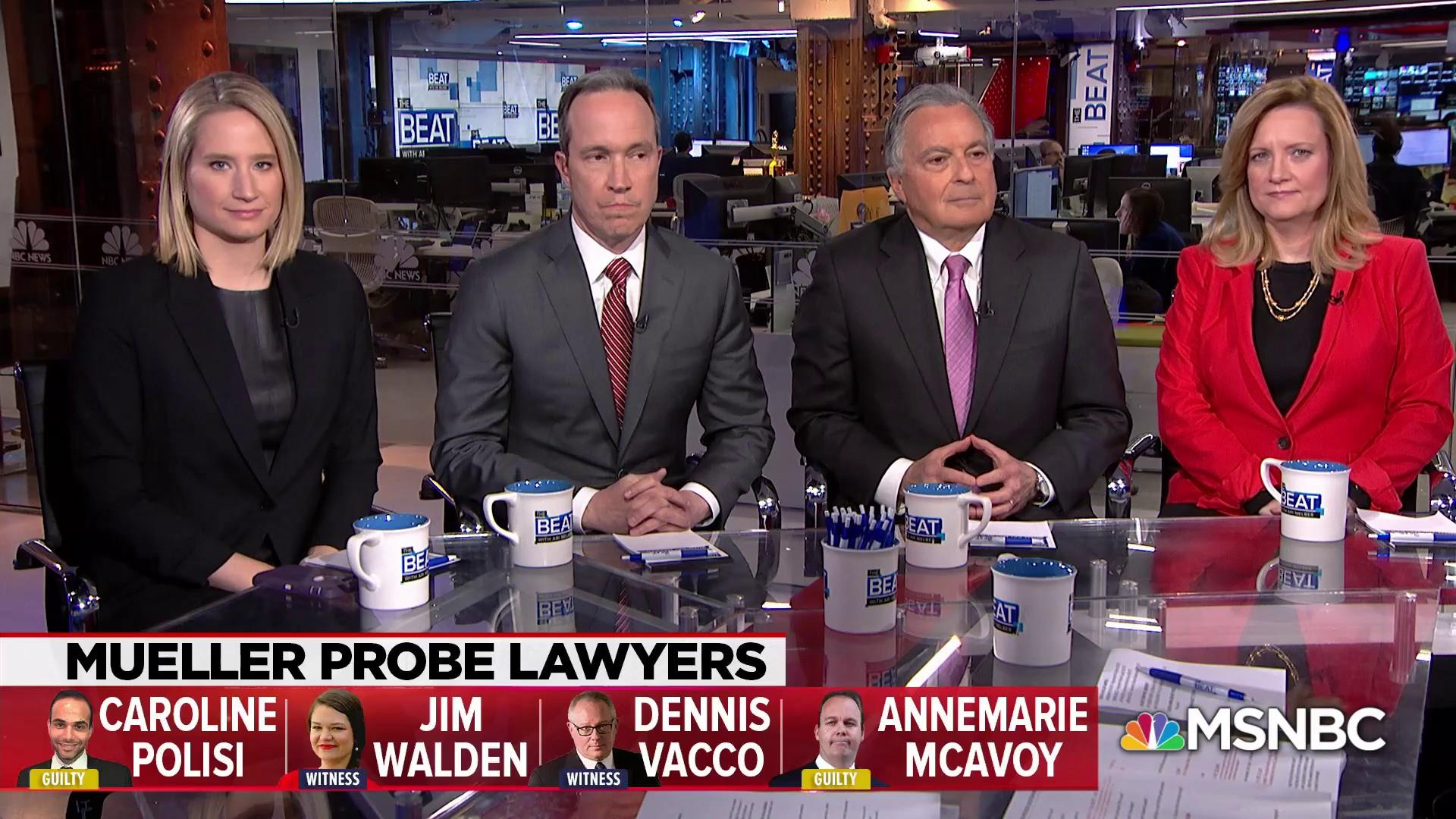 When lawyers for top Mueller witnesses spoke out on live TV