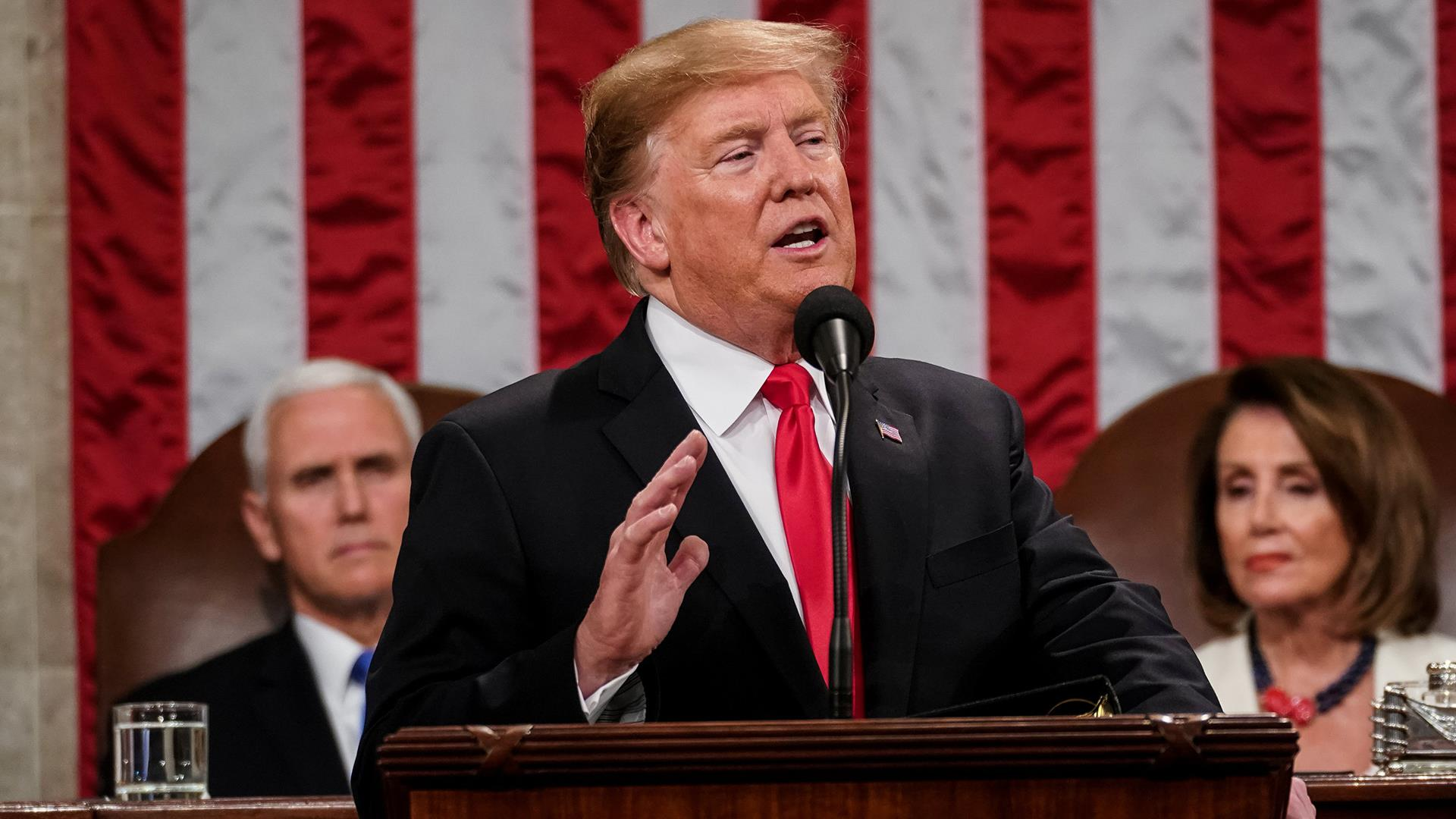 Top 10 highlights from Trump's State of the Union