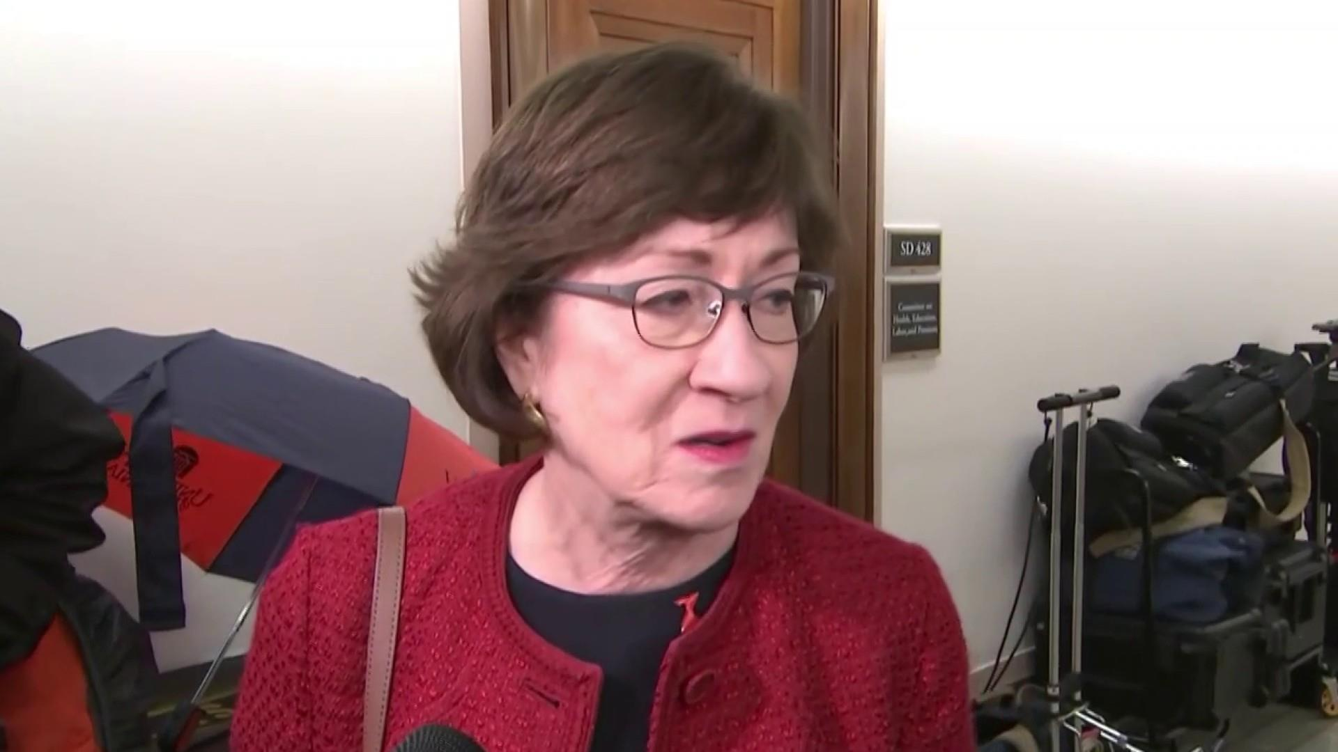 Trump Judge's anti-abortion ruling boomerangs on GOP Sen. Collins