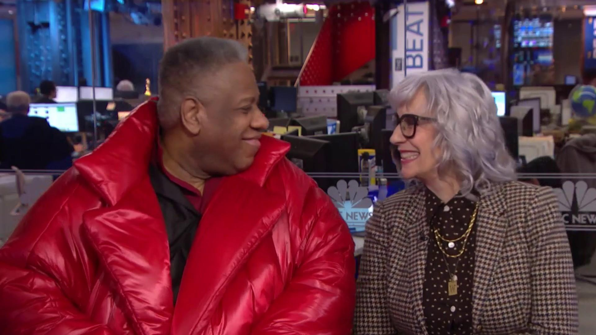 Andre Leon Talley flips the script on fashion's double standard