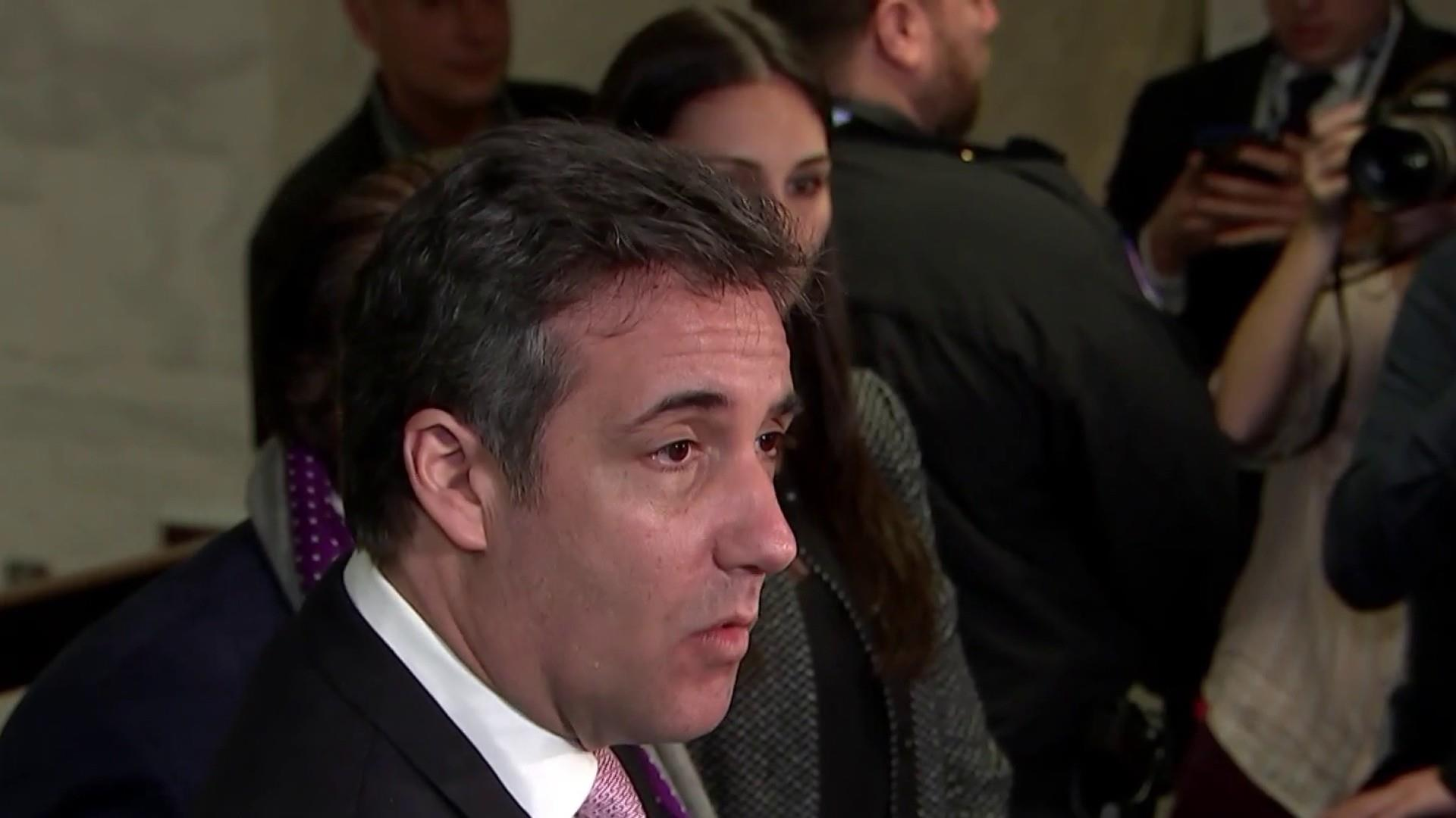 Cohen on upcoming testimony: I look forward to telling 'the American people my story'