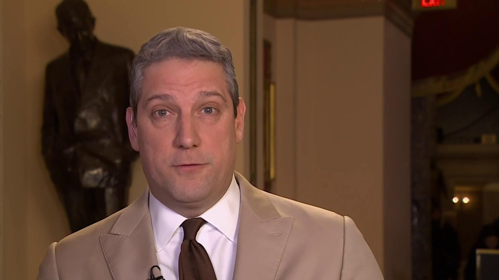 Tim Ryan on the National Emergency: Trump, GOP 'all over the place'