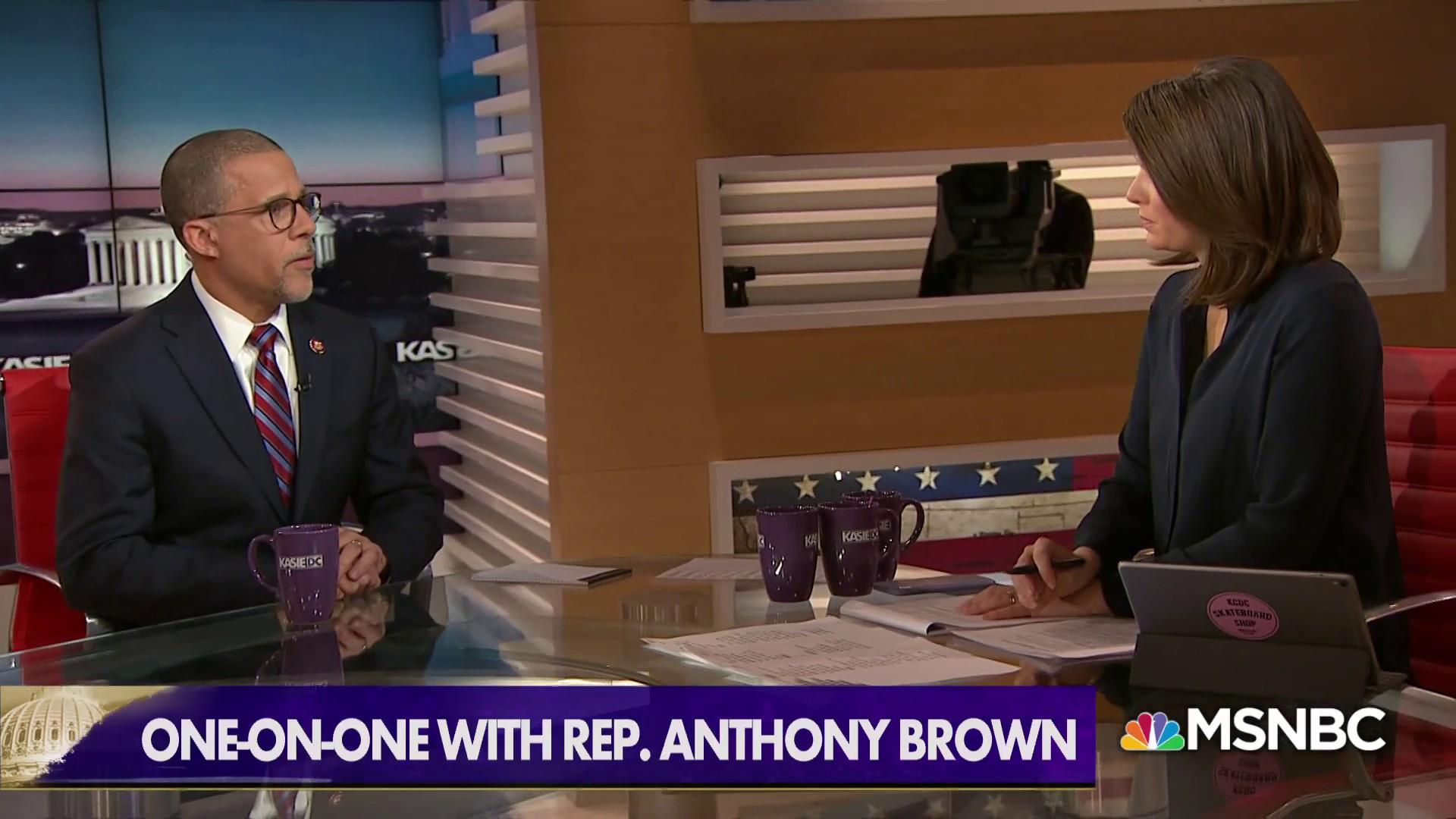 Rep. Anthony Brown: National Emergency 'Pure Power Grab'
