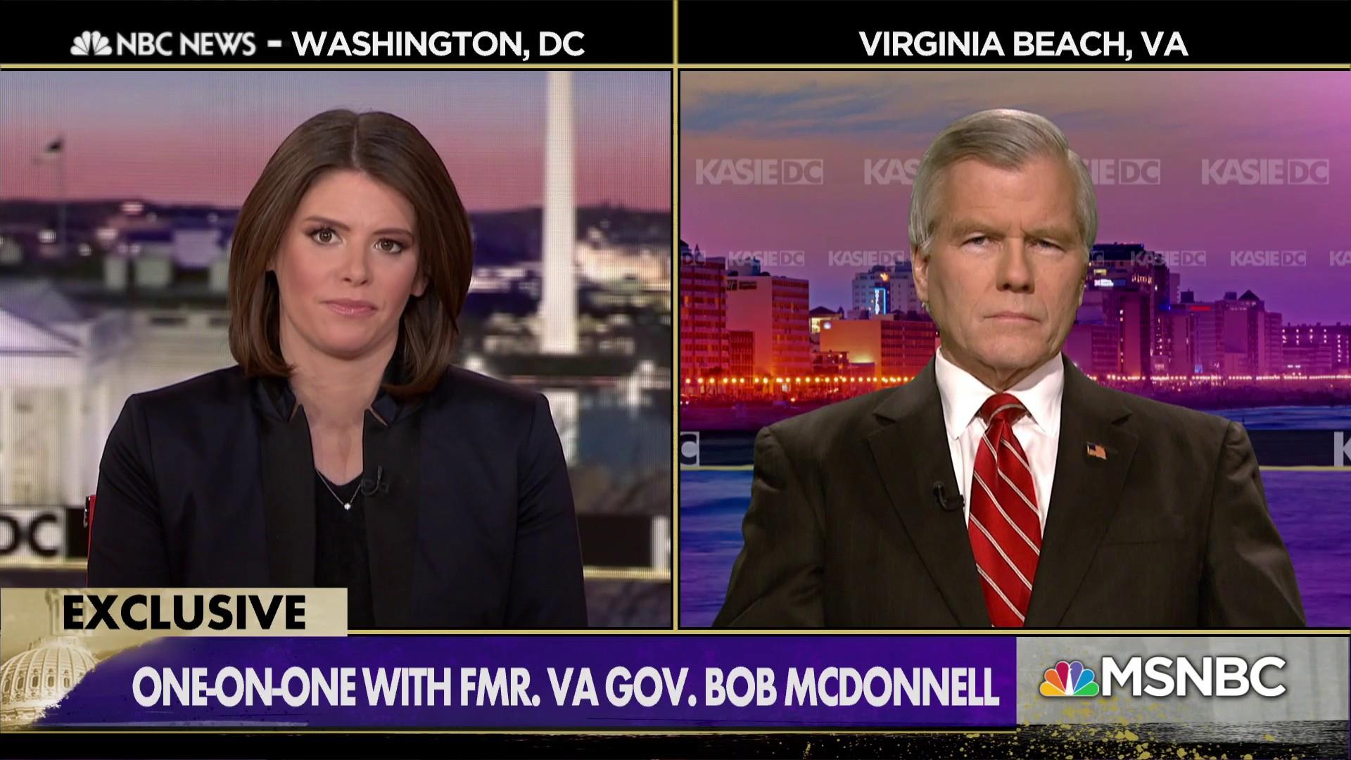 Fmr. VA Gov. McDonnell calls for investigation into Fairfax allegations