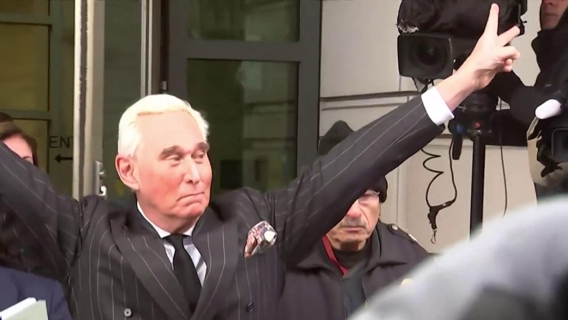 Judge considers gag for Roger Stone; October timeline projected