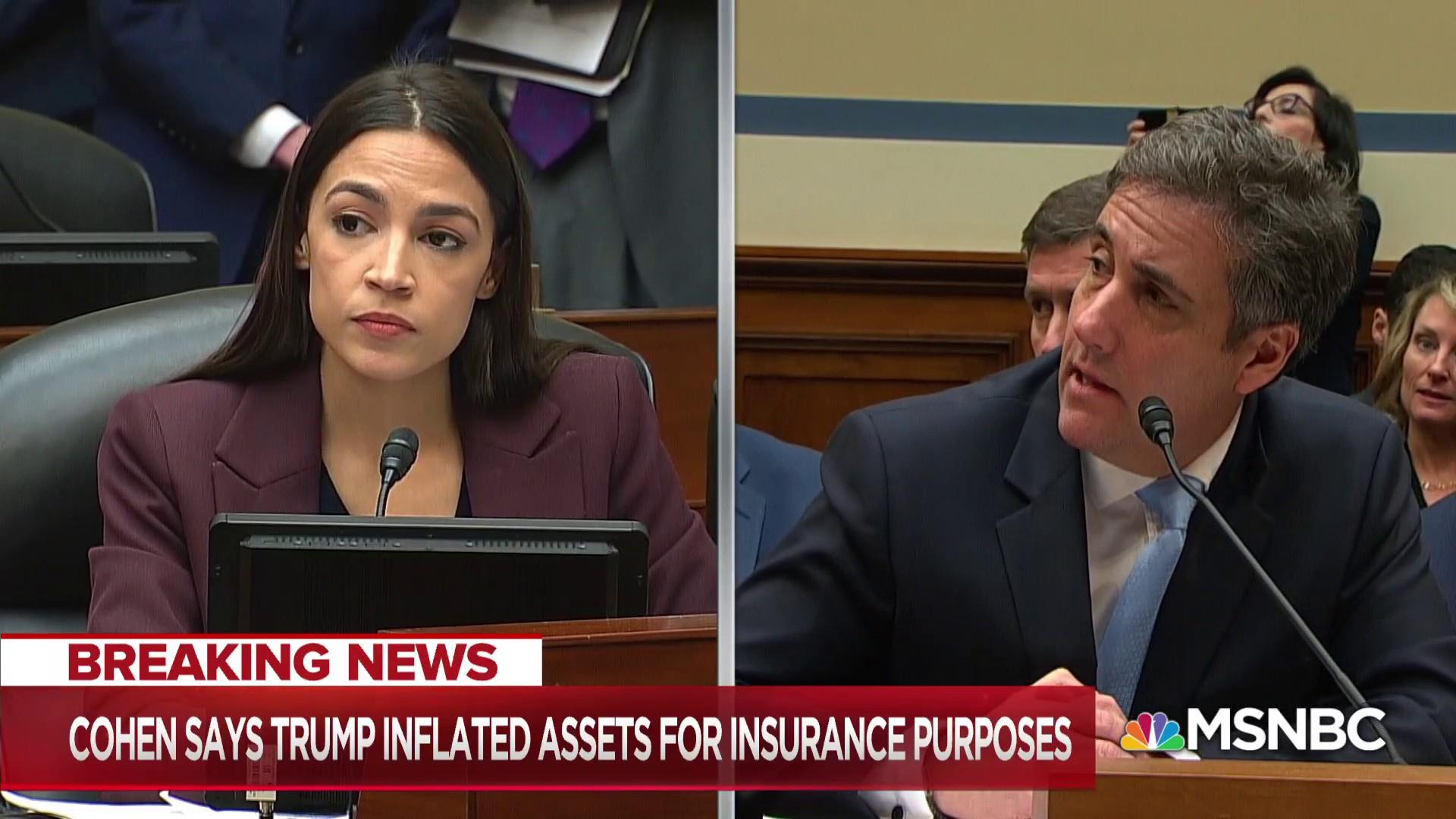 Cohen testimony suggests Trump committed financial fraud