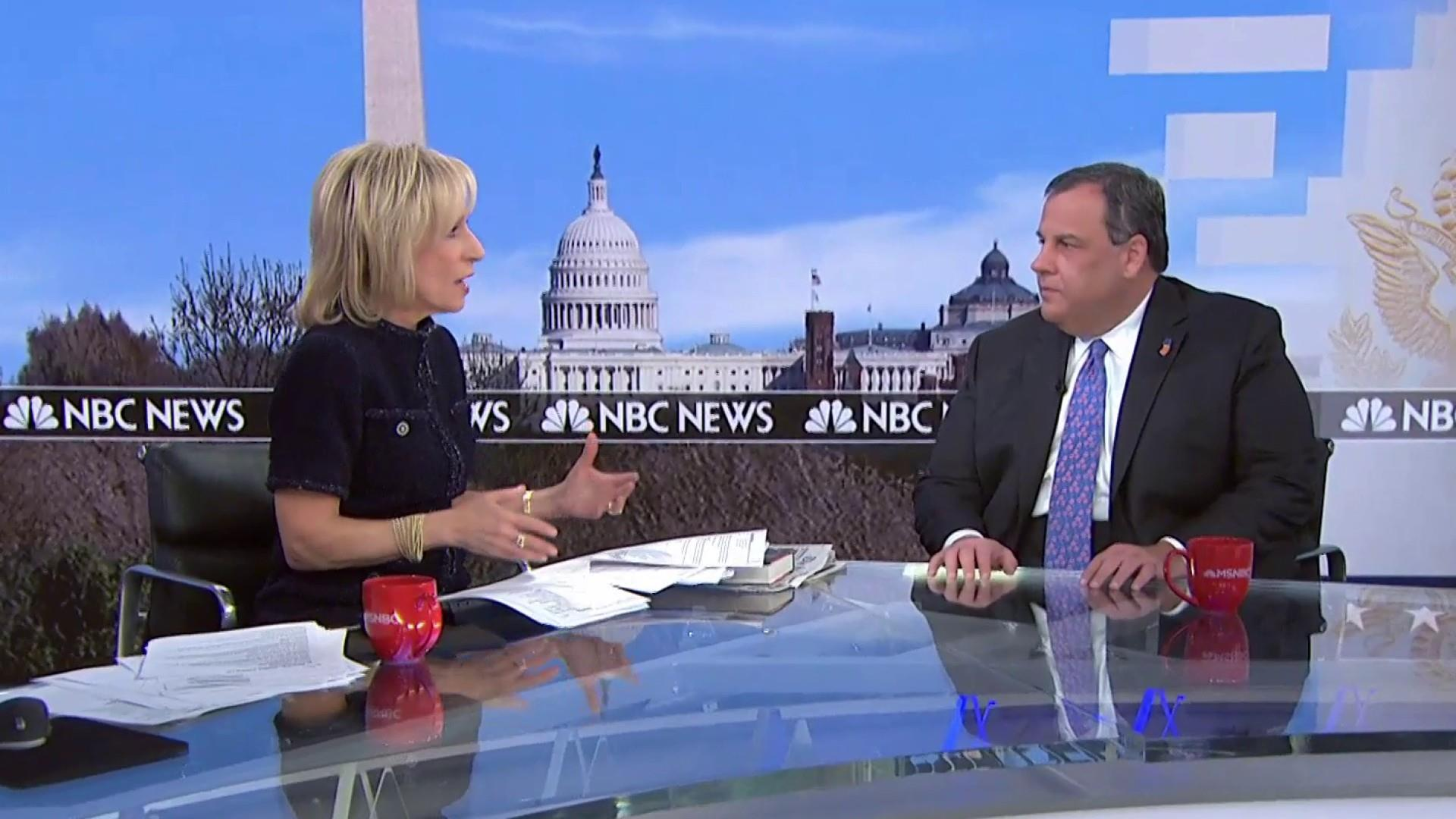 Chris Christie talks Mueller report, intel leaders and Trump's future