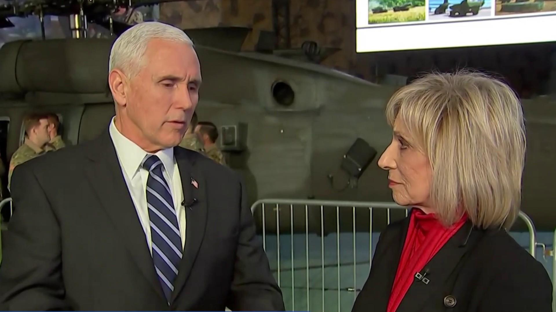 Andrea's conversation with VP Pence on key domestic and foreign policy concerns
