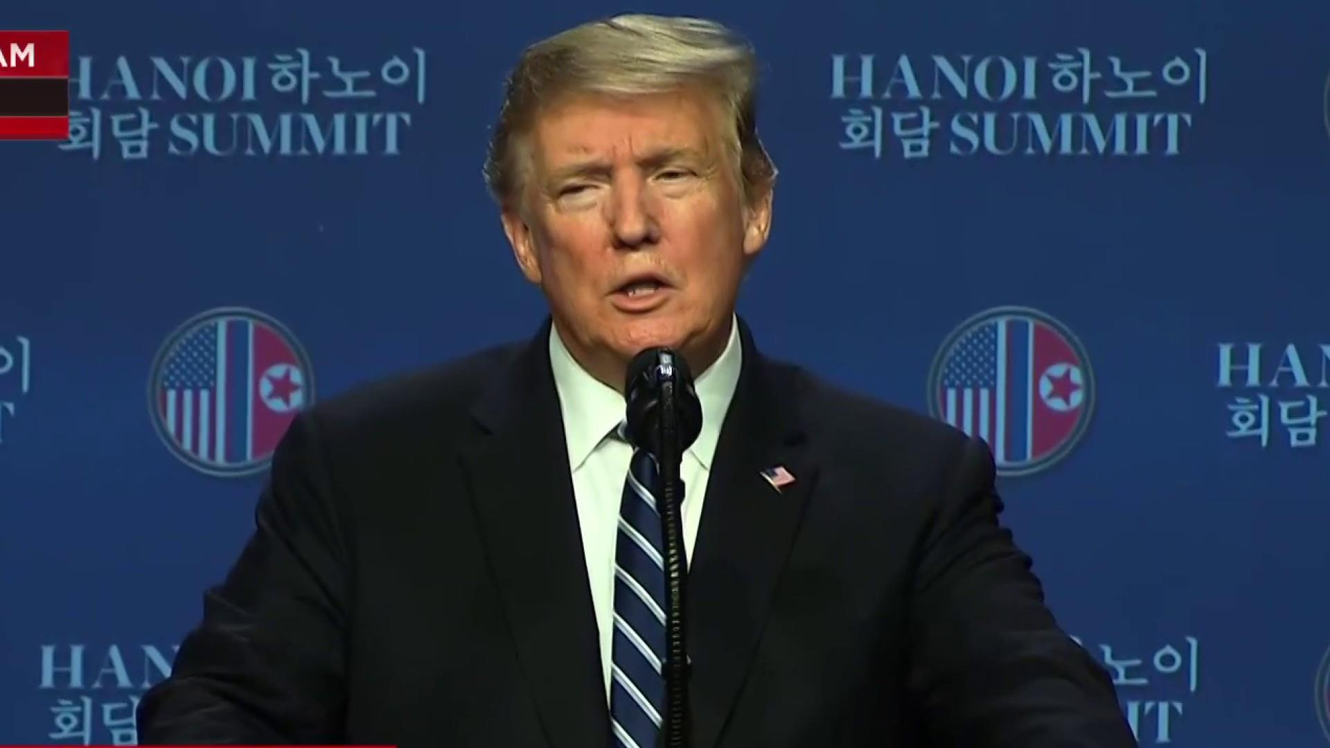 WATCH: President Trump's full press conference in Hanoi