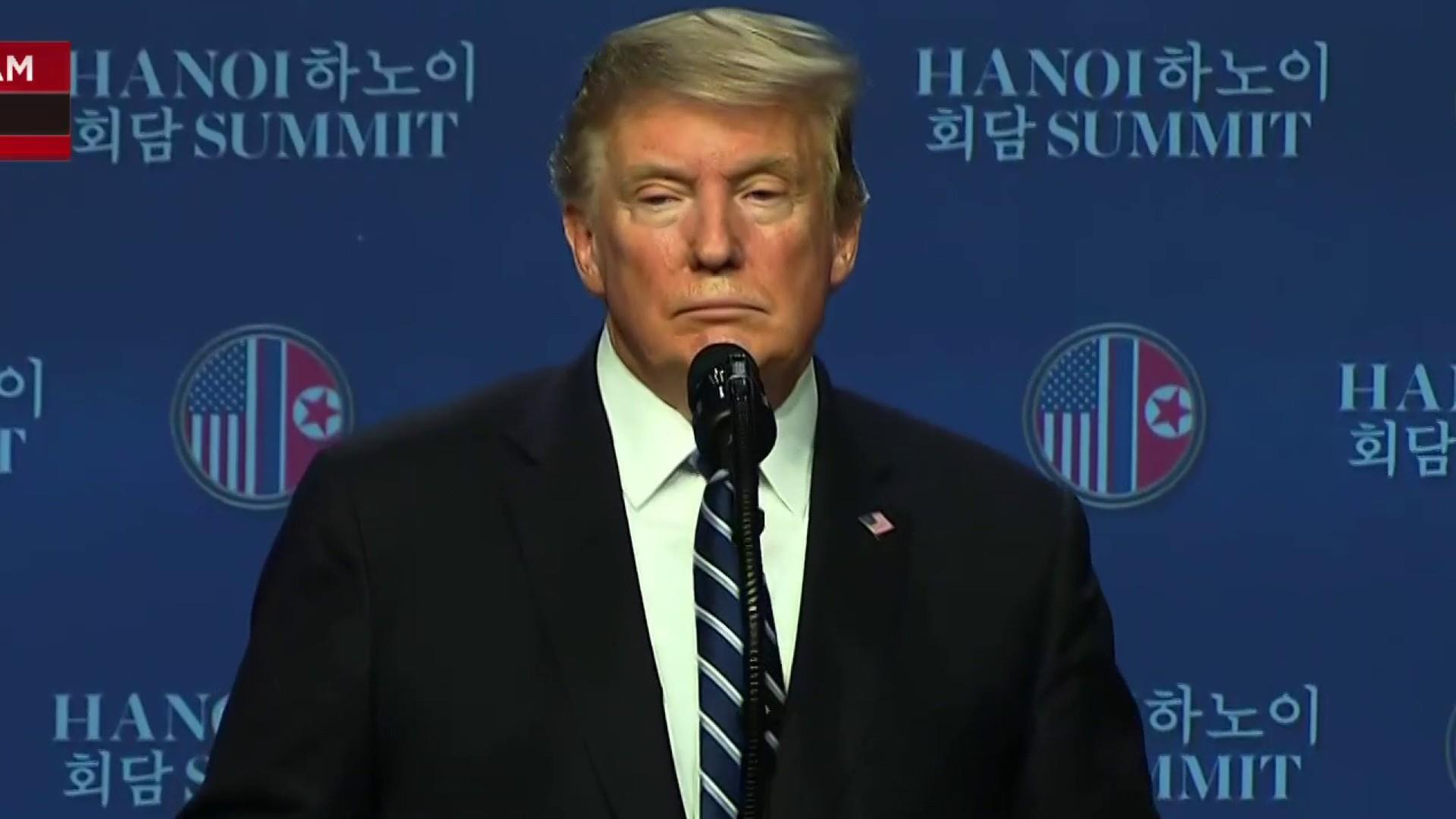 President Trump: I will take Kim Jong Un 'at his word' on the death of Otto Warmbier