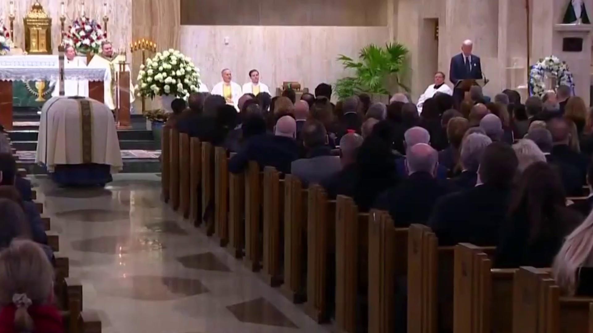 Dingell memorialized in Michigan with tribute from Joe Biden