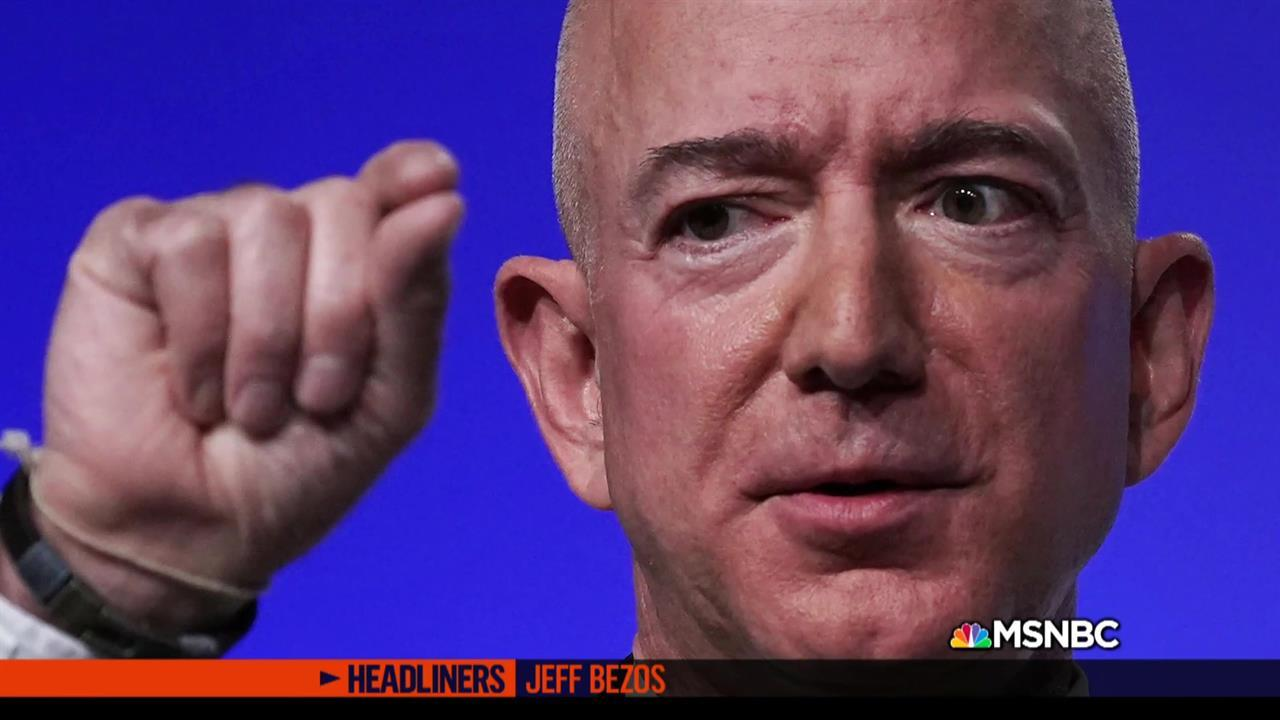 'Headliners: Jeff Bezos' Bezos's personal life made public