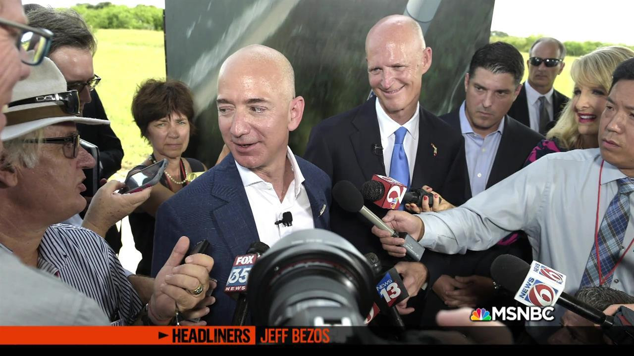 'Headliners: Jeff Bezos' Web Extra: Taking people to space is Jeff Bezos's next big mission
