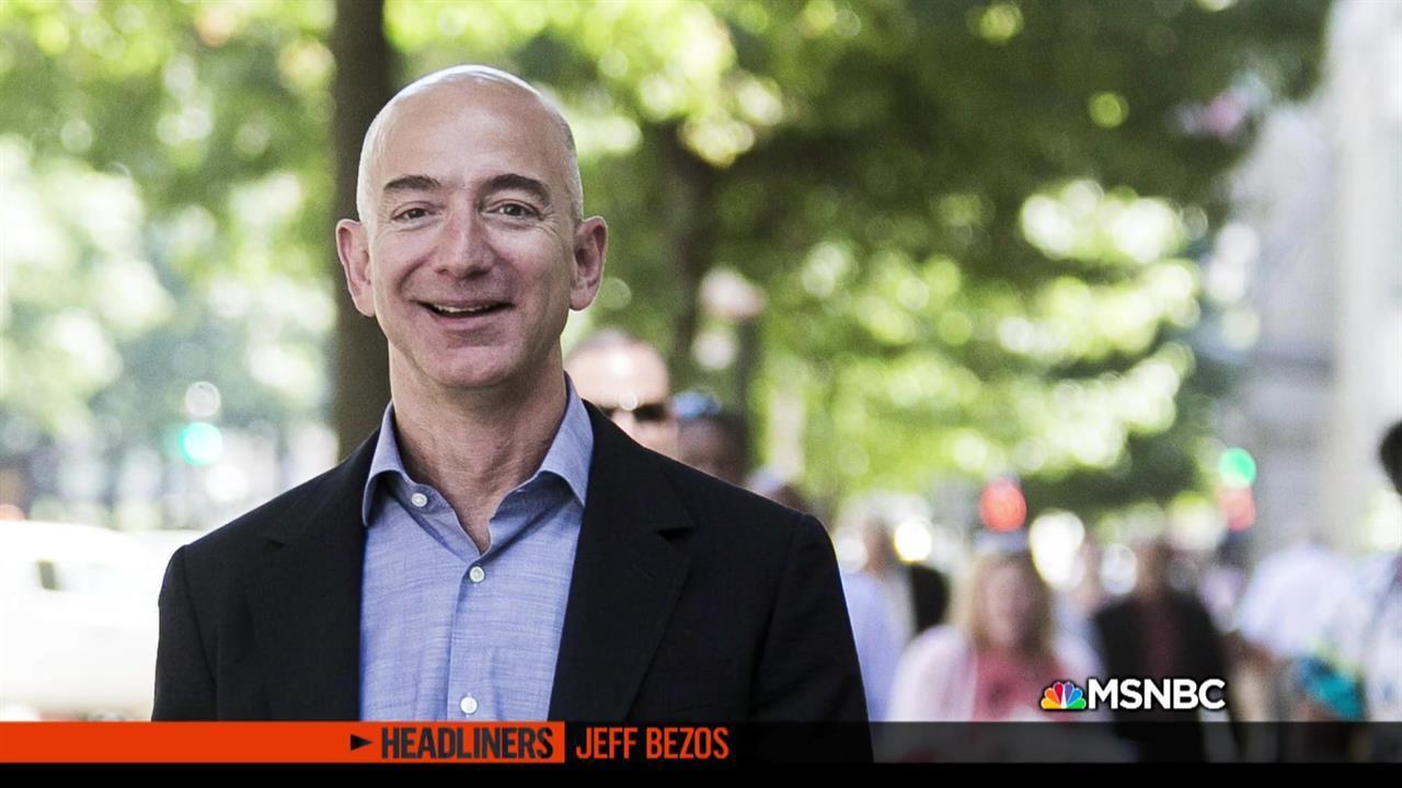 'Headliners: Jeff Bezos' Jeff Bezos and the President