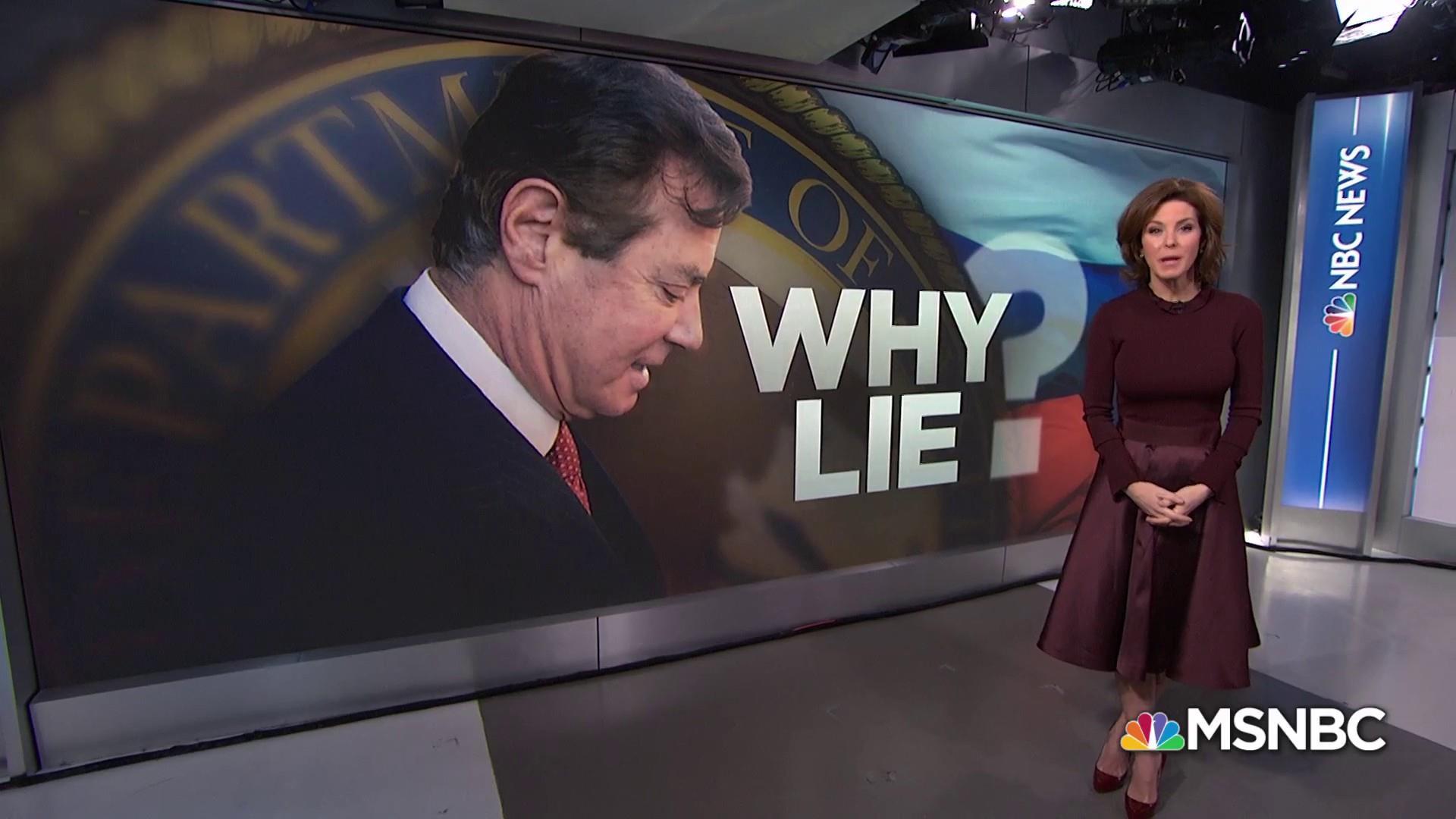 Why did Paul Manafort lie?