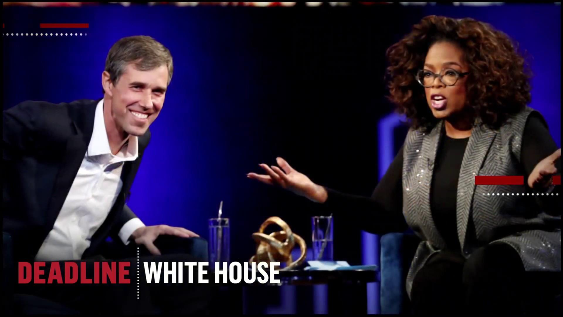 You 'Beto watch out': O'Rouke tells Oprah he'll make his 2020 decision soon