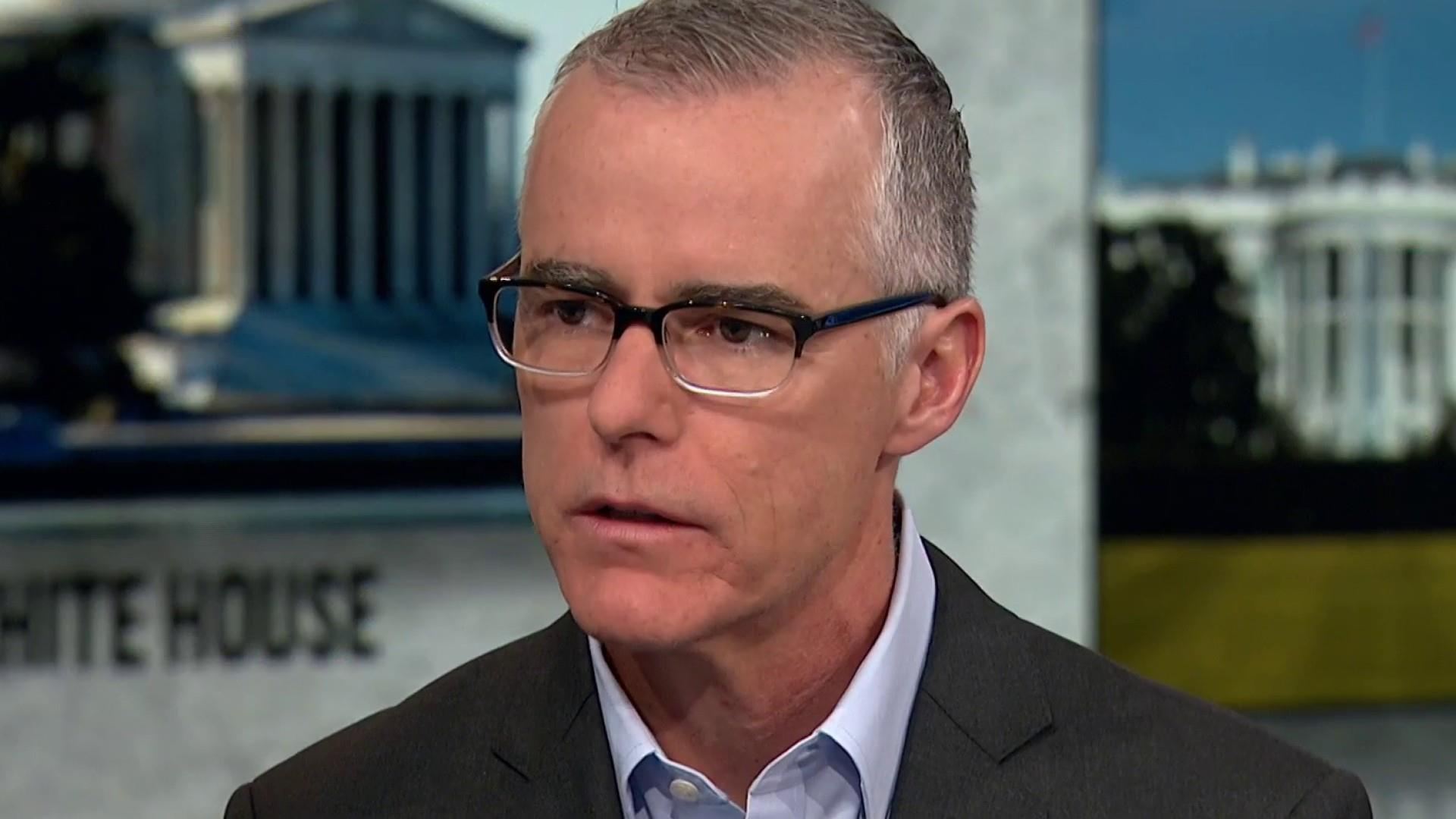 McCabe: I have seen the letter Trump wrote justifying the firing of Jim Comey