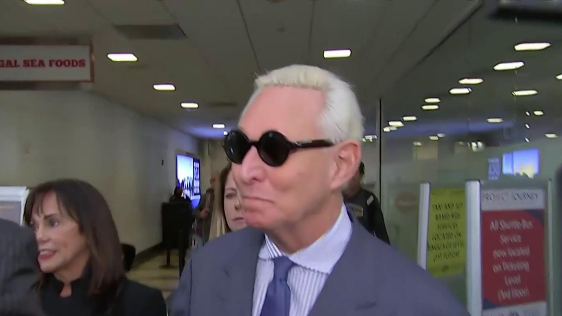 Judge puts strict gag order on Roger Stone, allows him to remain out of jail