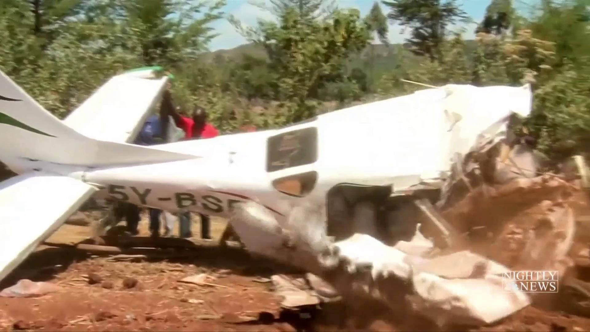 2 Americans among 5 dead in Kenyan plane crash