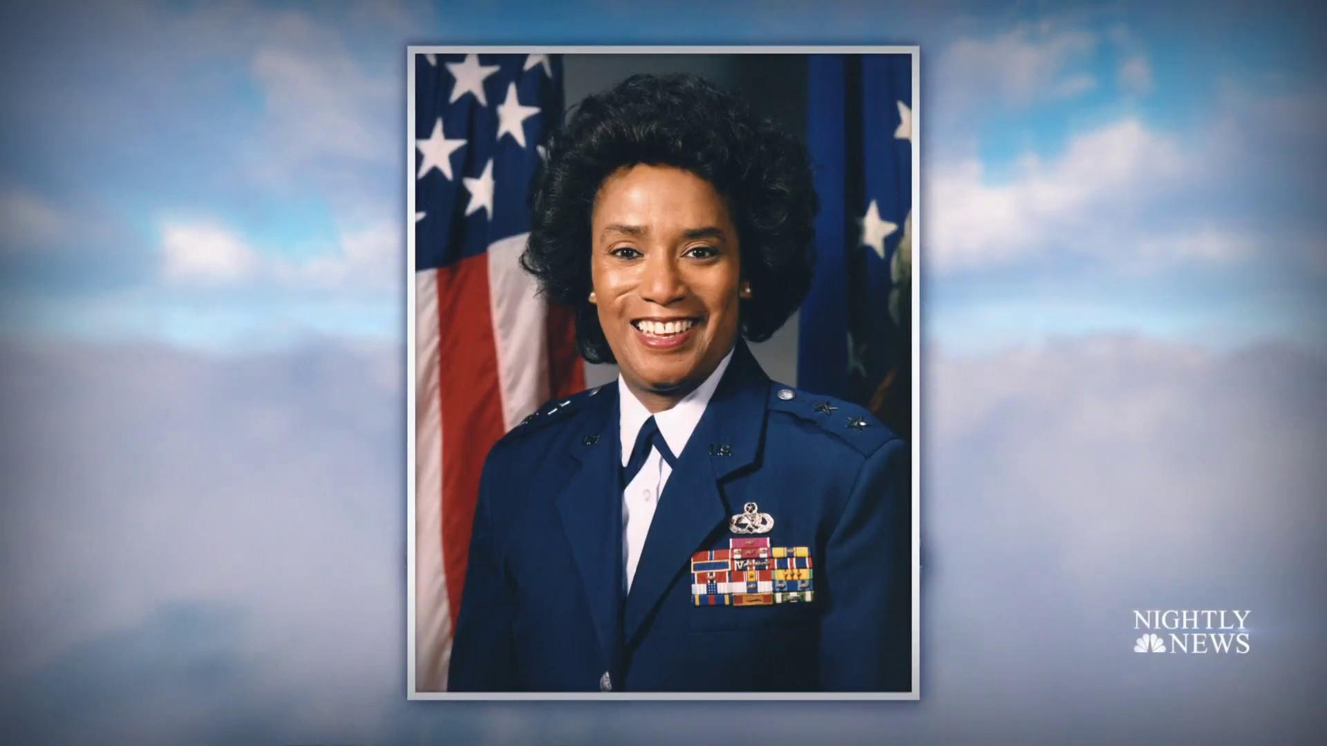 Marcelite J. Harris, first black female major general, is buried in Arlington