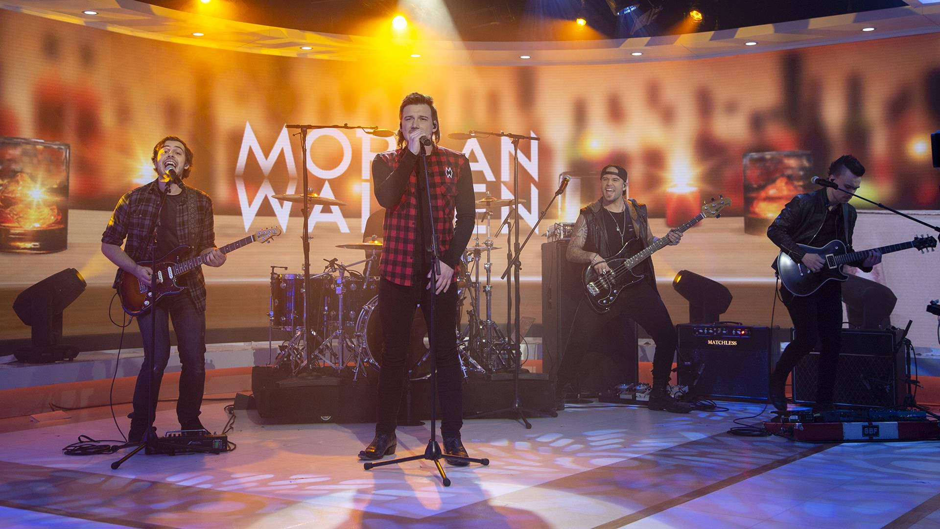 Watch Morgan Wallen sing 'Whiskey Glasses' live on TODAY