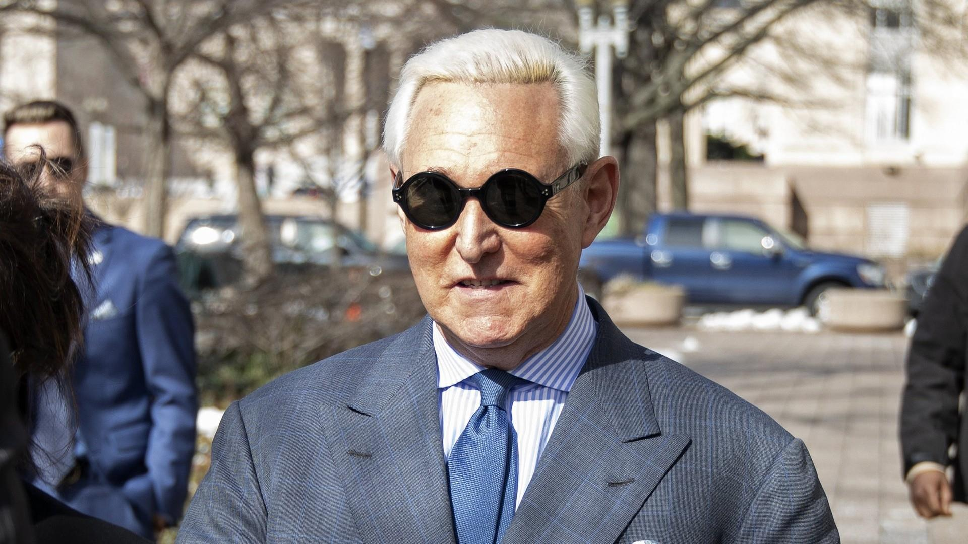 Judge bars Roger Stone from speaking publicly about case