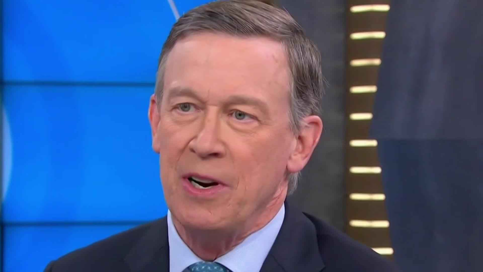 Why John Hickenlooper thinks he can beat Donald Trump in 2020