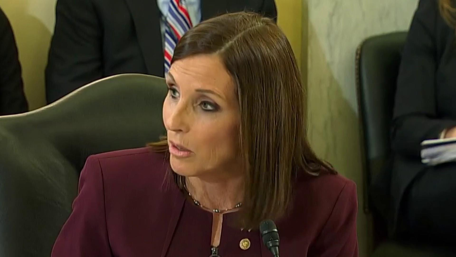 Sen. McSally says she was raped by a superior in the Air Force