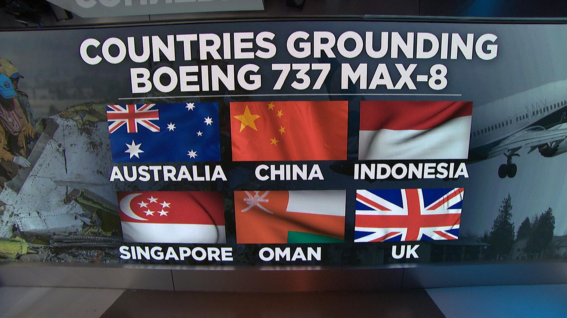 United Kingdom joins growing list of countries grounding Boeing jet