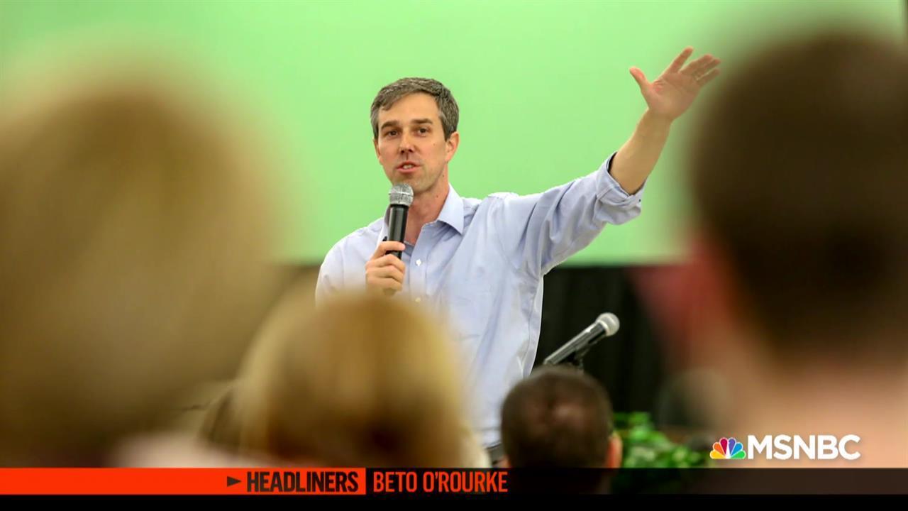 'Headliners: Beto O'Rourke' Entering the 2020 Race